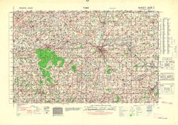 France 1:50,000, Series GSGS 4250, Torigni-sur-Vire